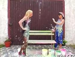 Fantastic wet sex oral stimulation scenes