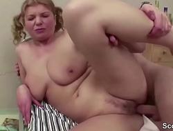 Female MILF Teacher Seduce Young Boy to Fuck on Excurse