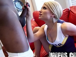Mofos - Milfs Like It Black - (Sadie Sable) - Cheerleader Fantasy