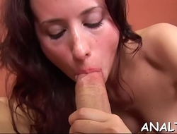 Amorous anal pounding session