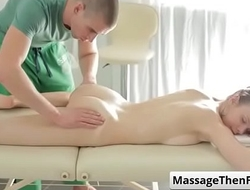 Fantasy Massage shows Peachy Keen Massage with Peachy vid 02