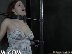 Torturing hotty with sex-toys