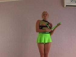 Kermis performer of gymnastics