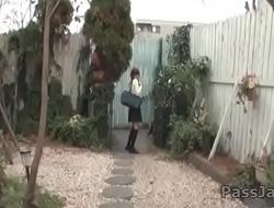 Karin Aizawa is preparing to take down her undies for cock