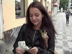 Hardcore Dick SUcking In Public For Cash 17
