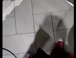 Masturbation at a public toilet great mall