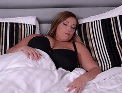 2 Busty Neighbor Babes have a Hot Threesome to combat Boredom