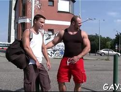 Movie scenes of gay men having sex