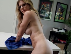 Kinky housewife with big honkers shagged by her stepson
